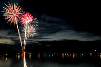 Donnelly Idaho Fireworks 2014